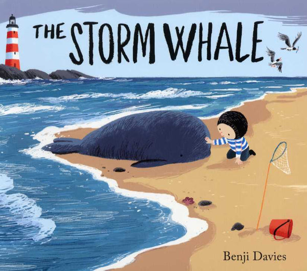 BOOK - THE STORM WHALE by Benji Davies