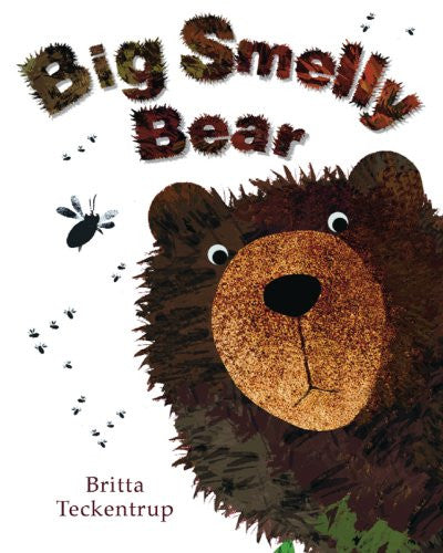 BOOK - BIG SMELLY BEAR by Britta Teckentrup