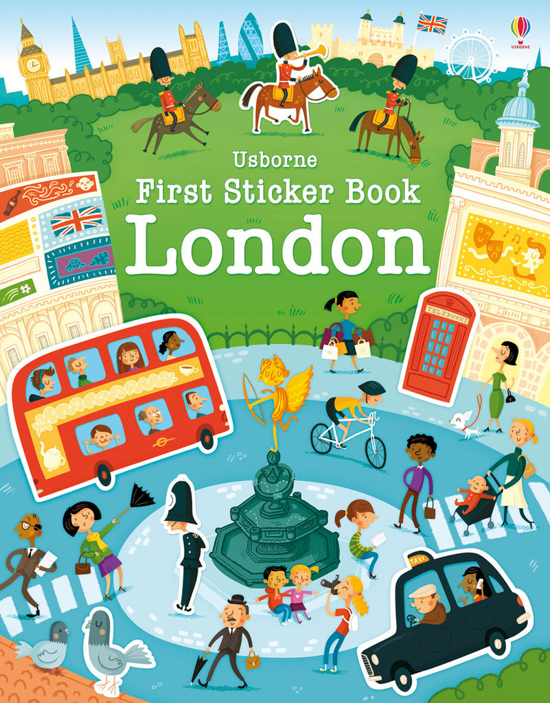 BOOK - FIRST STICKER BOOK: LONDON