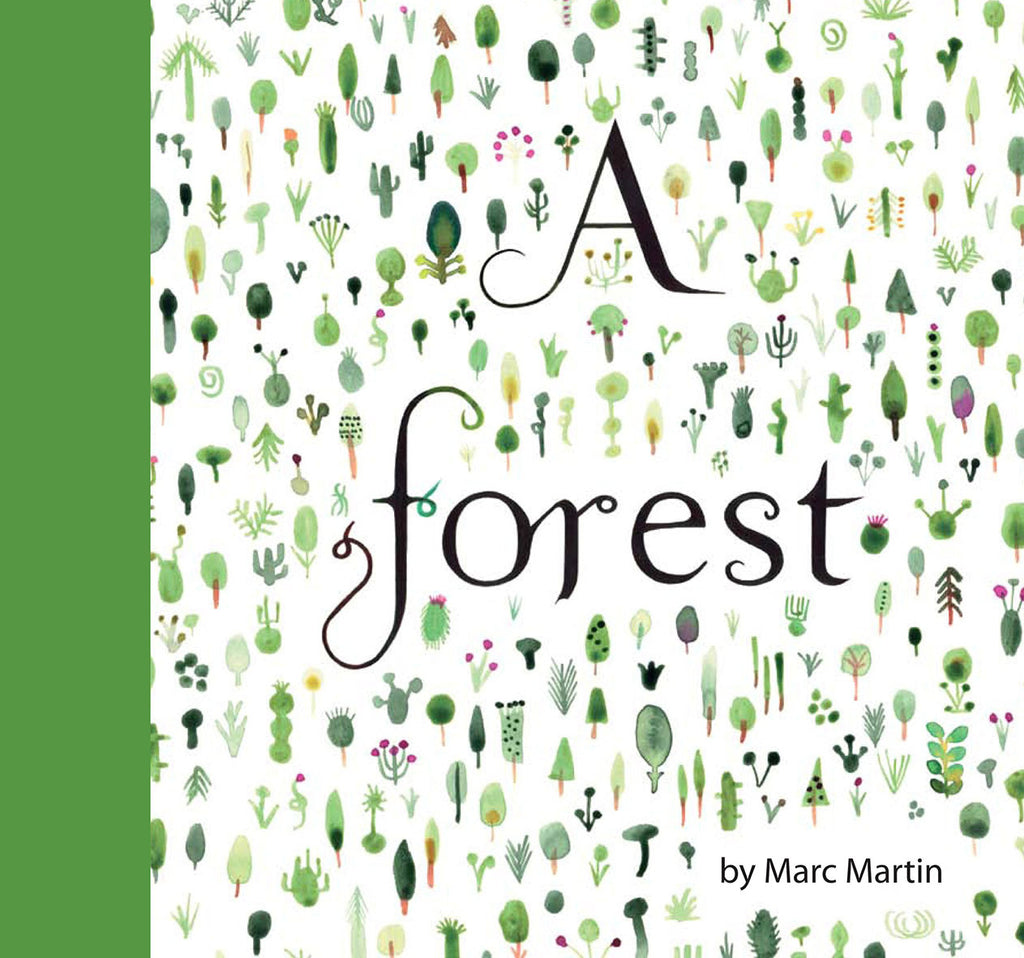BOOK - A FOREST by Marc Martin