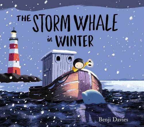 BOOK - THE STORM WHALE IN WINTER by Benji Davies