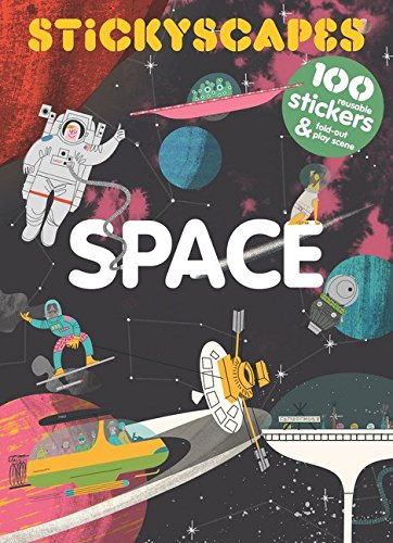 BOOK - STICKYSCAPES: SPACE by Tom Froese