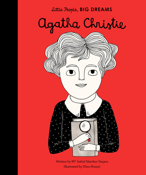 BOOK - LITTLE PEOPLE BIG DREAMS: AGATHA CHRISTIE by Isabel Vegara & Elisa Munso