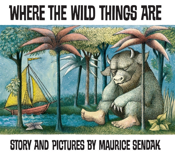 BOOK - WHERE THE WILD THINGS ARE by Maurice Sendak
