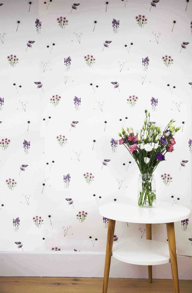WILD HEARTS WONDER - Wallpaper - Ditsy Boho Flower