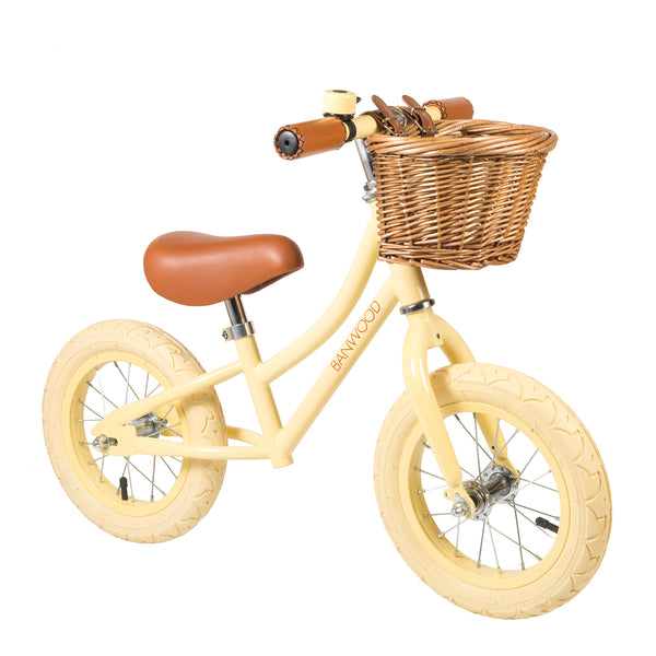 BANWOOD - First Go! Balance Bike - Cream