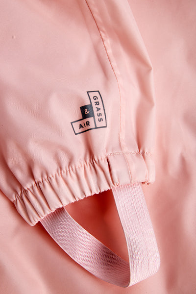 GRASS & AIR - Stomper Suit - Baby Pink