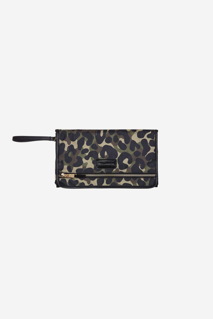 TIBA + MARL - Etta Changing Clutch - Camo