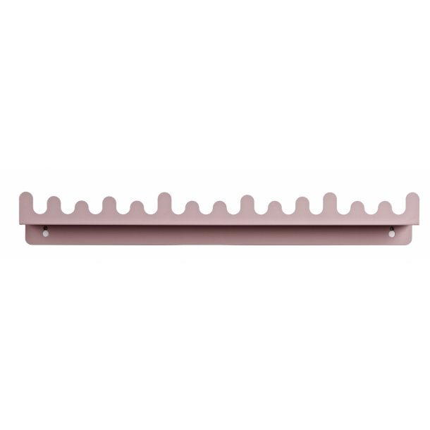 ROOMMATE - Doodle Drop Shelf - Rose Pink