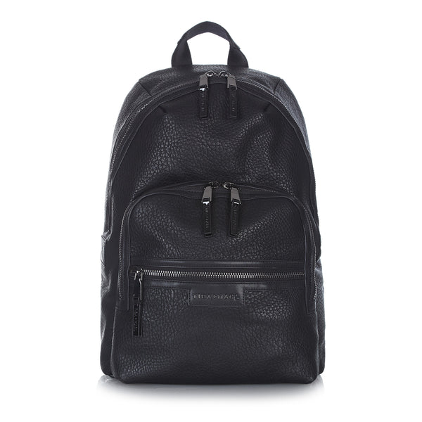 Tiba + Marl - stylish, unisex changing and weekend bags for modern parents - Elwood Black