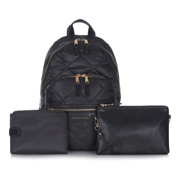 Tiba + Marl - stylish, unisex changing and weekend bags for modern parents - Elwood Quilted