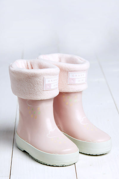 GRASS & AIR - Welly Socks - Pink