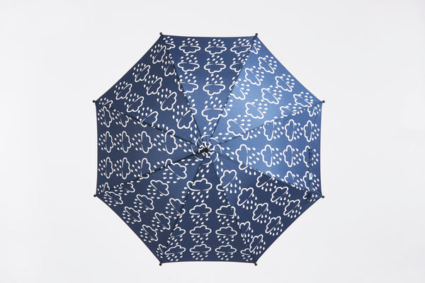 GRASS & AIR - Colour Revealing Umbrella - Navy