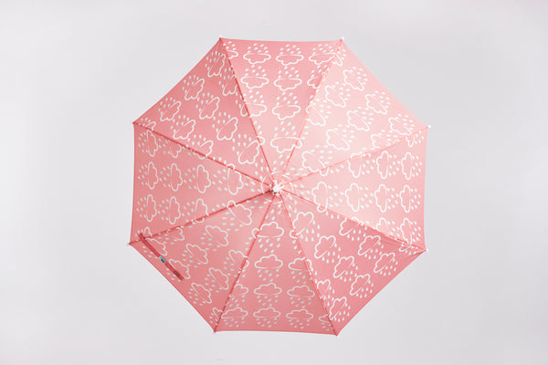 GRASS & AIR - Colour Revealing Umbrella - Coral
