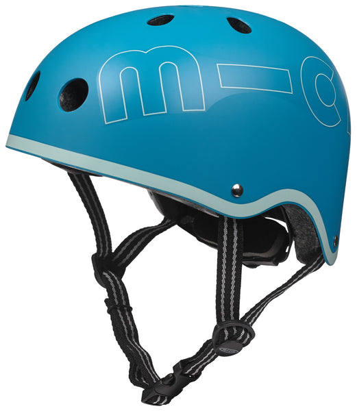 Aqua Micro Helmet by Micro Scooters to protect whilst on scooting adventures. Free shipping. Discount for newsletter subscribers.
