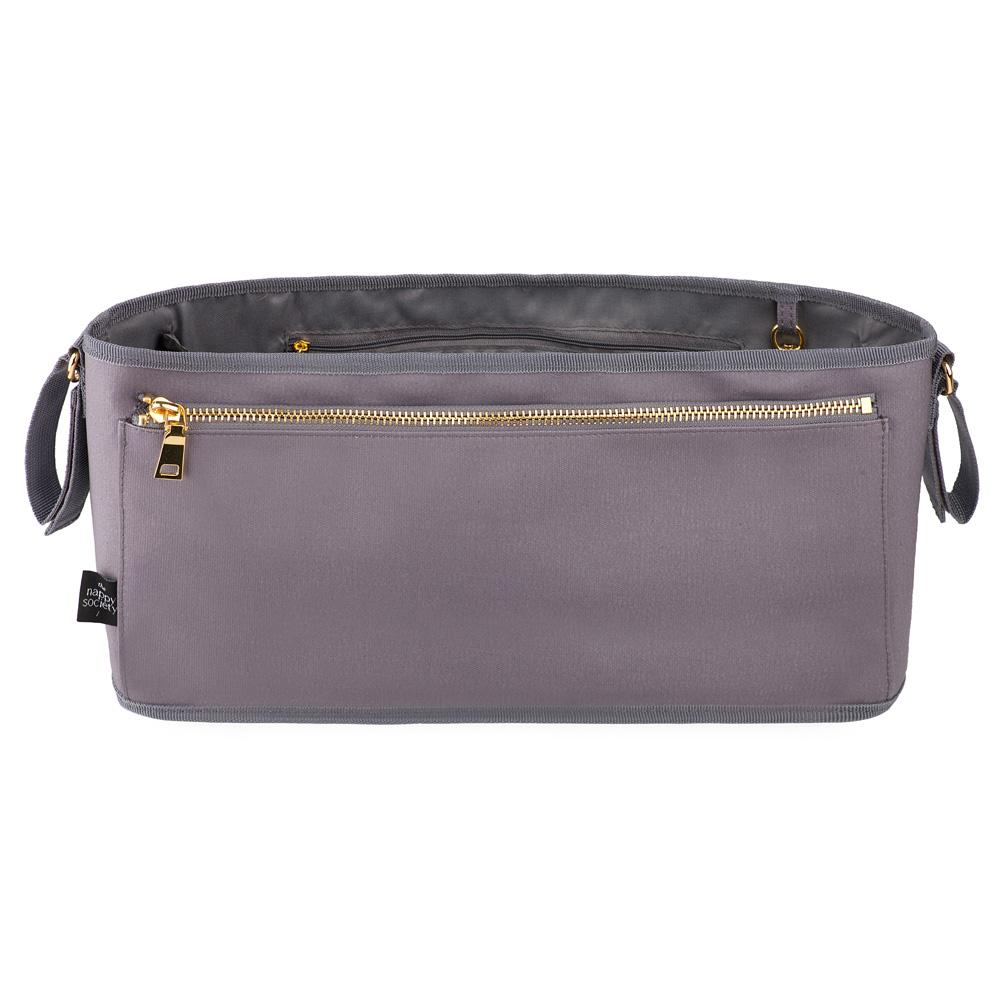 THE NAPPY SOCIETY - Pram Caddy - Grey