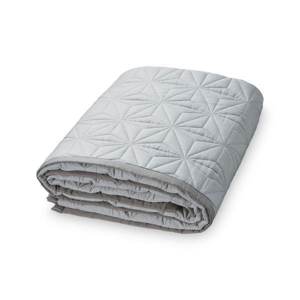 CAM CAM COPENHAGEN - Signature Single Bedspread/Quilt - Grey