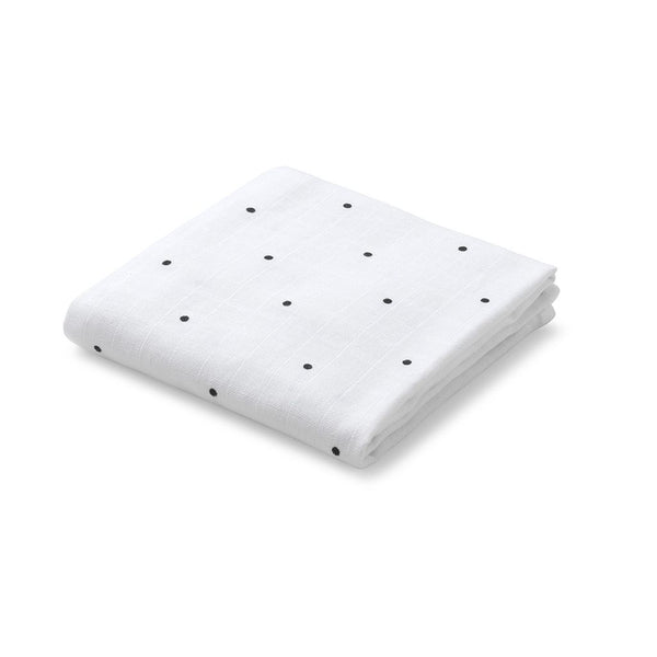 LIEWOOD - Hannah Muslins (Two Pack) - Classic Dot White