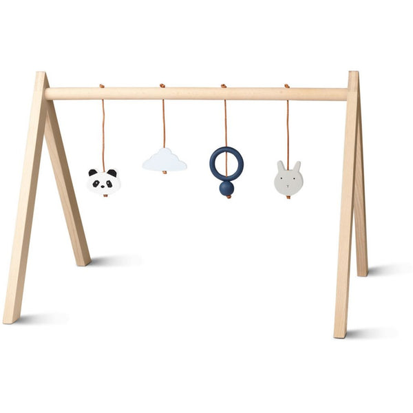 LIEWOOD - Wooden Baby Play Gym - Grey
