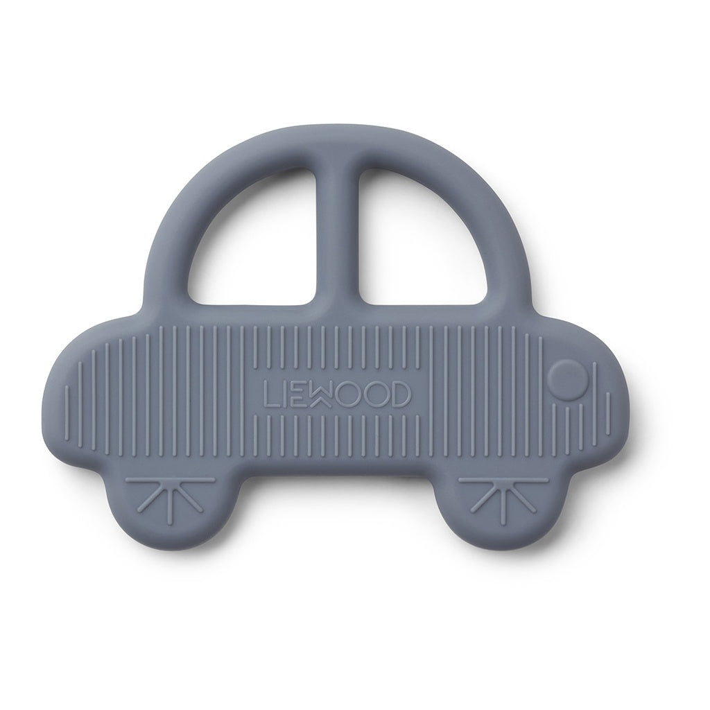 LIEWOOD - Gemma Teether - Car Blue Wave