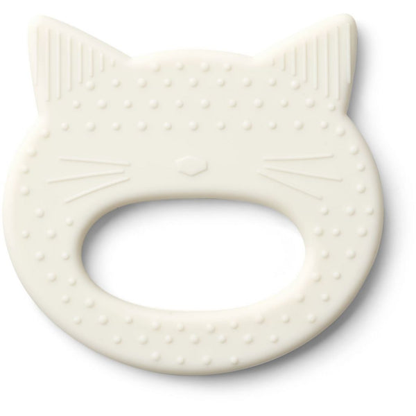 LIEWOOD - Gemma Teether - Cat Creme De La Creme White