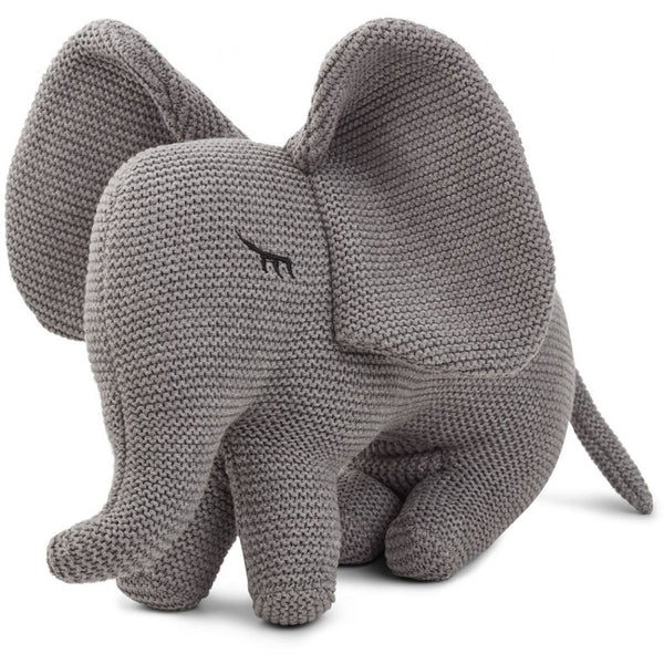 LIEWOOD - Dextor Knit Toy - Elephant Grey