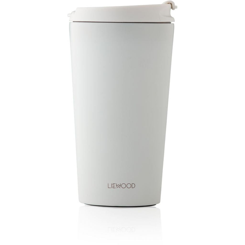 LIEWOOD - Kikki Reusable Thermo Cup - Dumbo Grey
