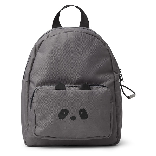 LIEWOOD - Allen Backpack - Panda Stone Grey