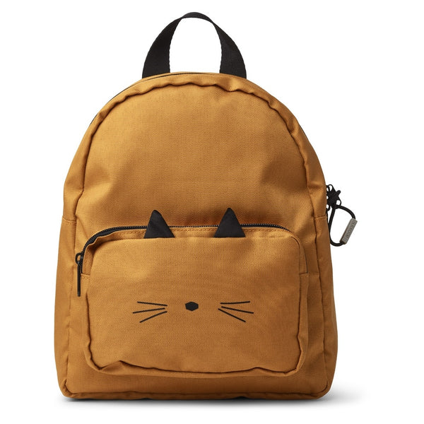 LIEWOOD - Allen Backpack - Cat Mustard