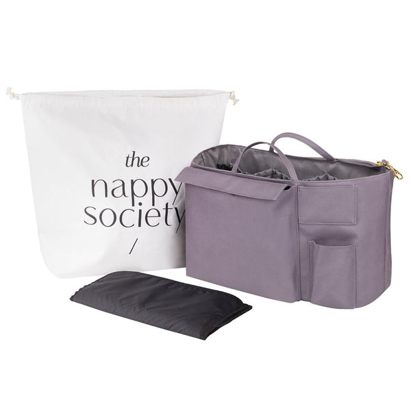THE NAPPY SOCIETY - Original Changing Bag Insert - Grey
