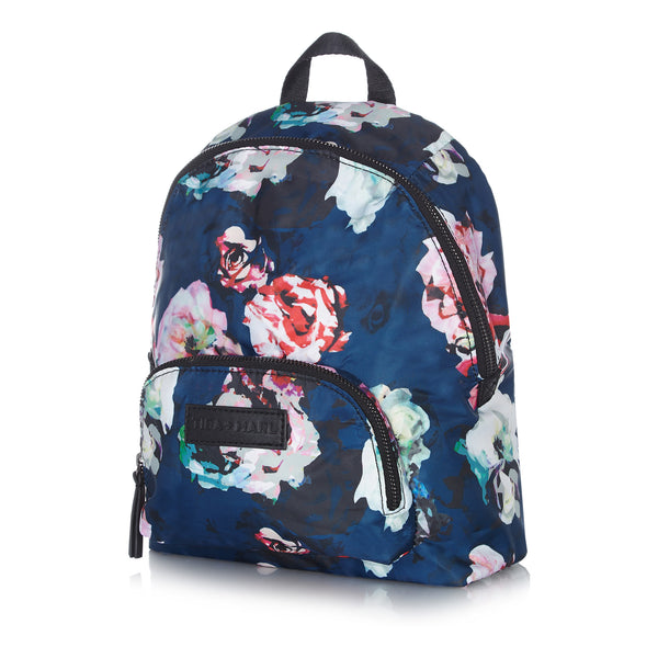 Tiba + Marl - stylish, unisex changing and weekend bags for modern parents - Mini Elwood kids backpack Floral