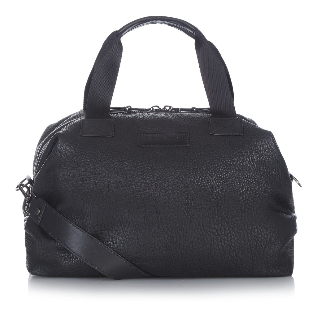 Tiba + Marl - stylish, unisex changing and weekend bags for modern parents - RAF Holdall Black