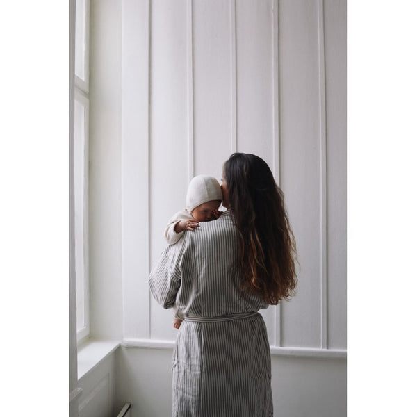 KONGES SLØJD - Muslin Mama Bath Robe - Nimbus Cloud