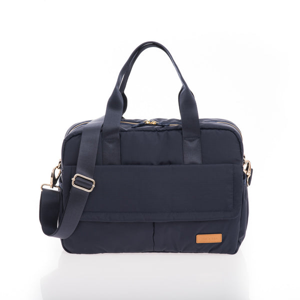 JEM + BEA Marlow unisex changing bag navy. Modern stylish changing bags and accessories. UK stockist. Free shipping. Discount when subscribe for newsletter.