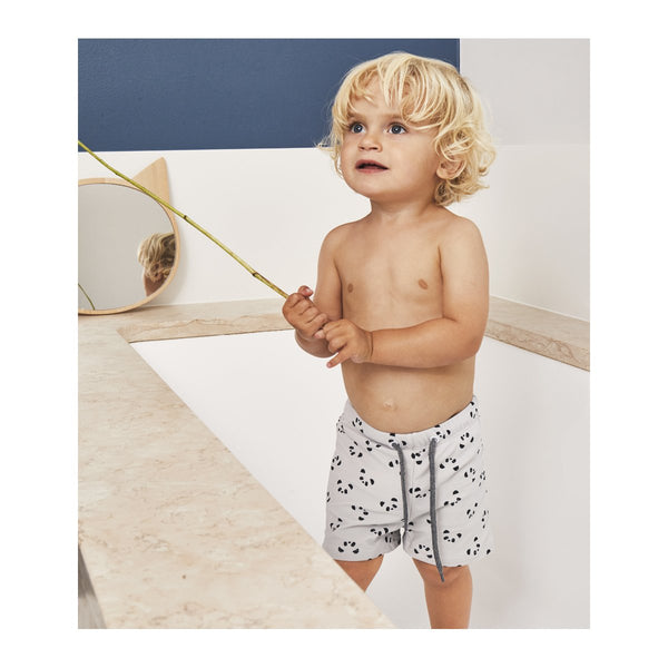 LIEWOOD - Otto Swim Pants - Panda Dumbo Grey