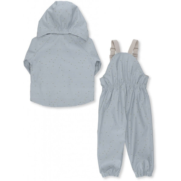 KONGES SLØJD - Palme Rainwear Set - Mille Marine, French Blue