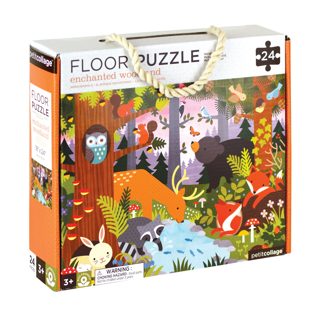 PETIT COLLAGE - Floor Puzzle - Enchanted Woodland