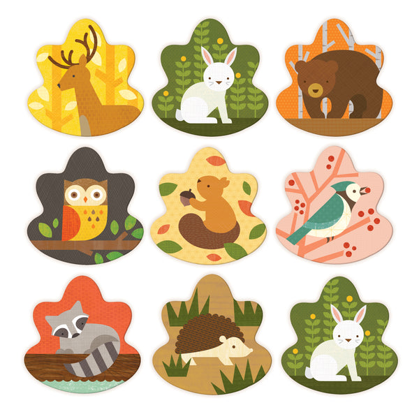 PETIT COLLAGE - Memory Game - Forest Animals