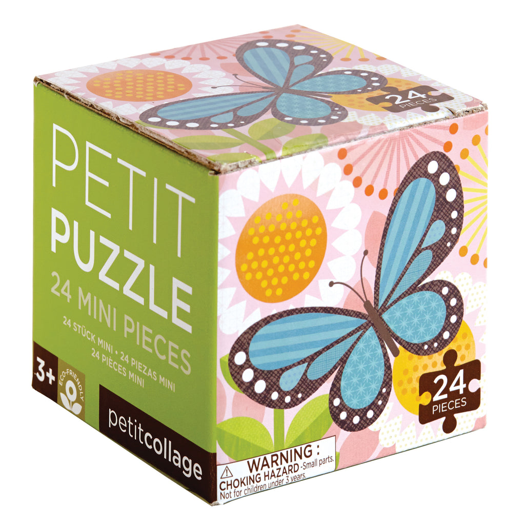 PETIT COLLAGE - Petit Puzzle - Butterflies