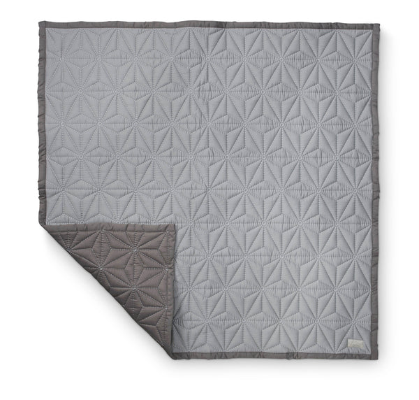 CAM CAM COPENHAGEN Signature Baby Quilt and Play Mat in Grey Scandinavian Danish Stylish Modern Baby Nursery Interiors