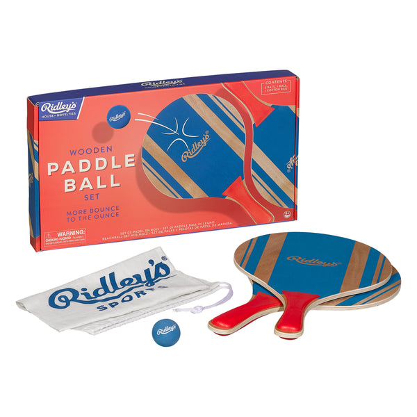 RIDLEY'S - Outdoor Game - Paddle Ball Set