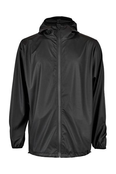 Stylish modern Scandinavian rainwear by Danish brand RAINS. Rains Base in Black.  Raincoat rain jacket.