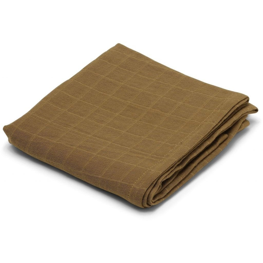 KONGES SLØJD - Muslin Cloth - Dark Honey