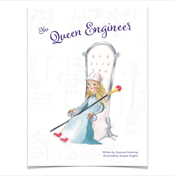BOOK - THE QUEEN ENGINEER by Suzanne Hemming