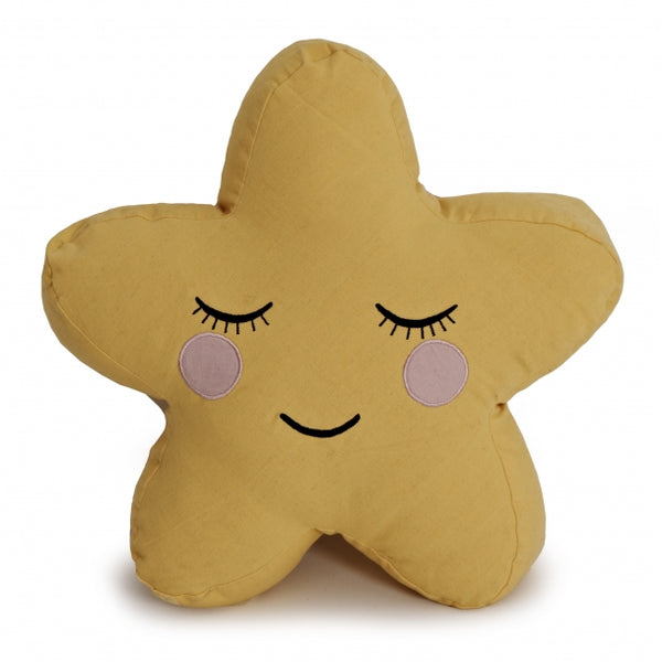 ROOMMATE - Star Cushion - Yellow