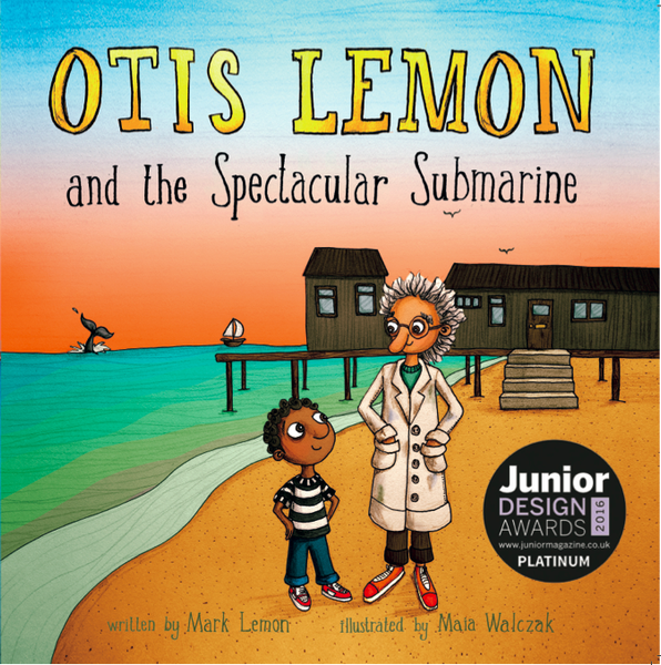 BOOK - Otis Lemon and the Spectacular Submarine by Mark Lemon