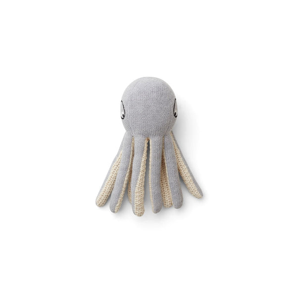 LIEWOOD - Ole Knit Mini Teddy - Octopus grey melange