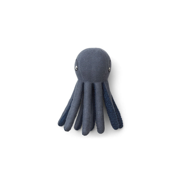LIEWOOD - Ole Knit Mini Teddy - Octopus blue wave