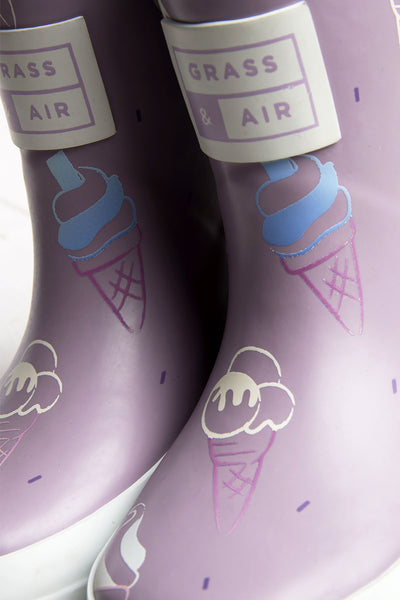 GRASS & AIR - Colour Revealing Wellies - Ice Cream Collection - 3 colours