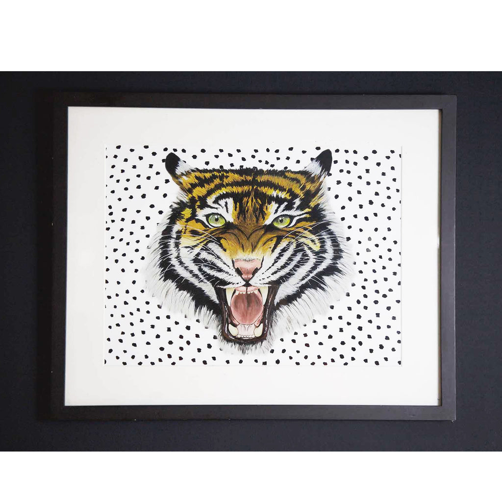 WILD HEARTS WONDER - Print - Tiger (A3)